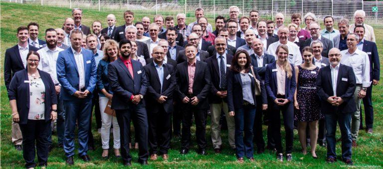 Netzwerken beim 12. Bergischen Qualitätsforum