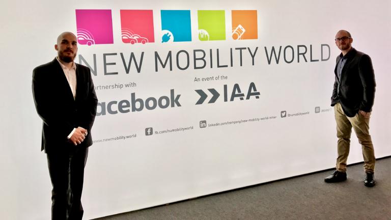 New Mobility World – Die Zukunft der Mobilität auf der IAA 2017