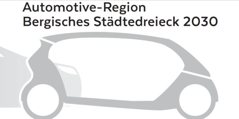 """Studie """"Automotive-Region Bergisches Städtedreieck 2030"""""""
